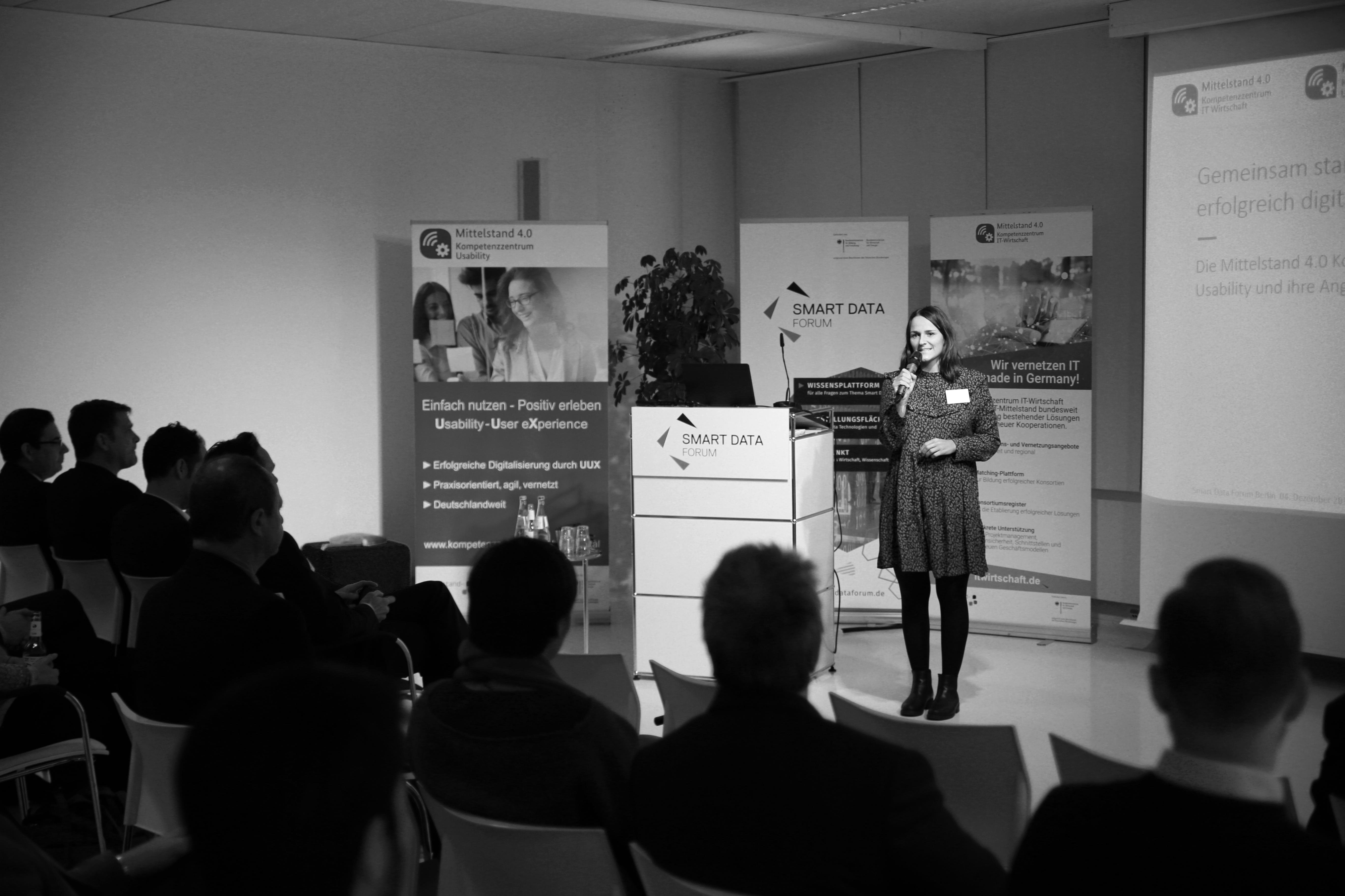 KIW-Veranstaltung für Kammern, Verbände und IHKs im Smart Data Forum Berlin