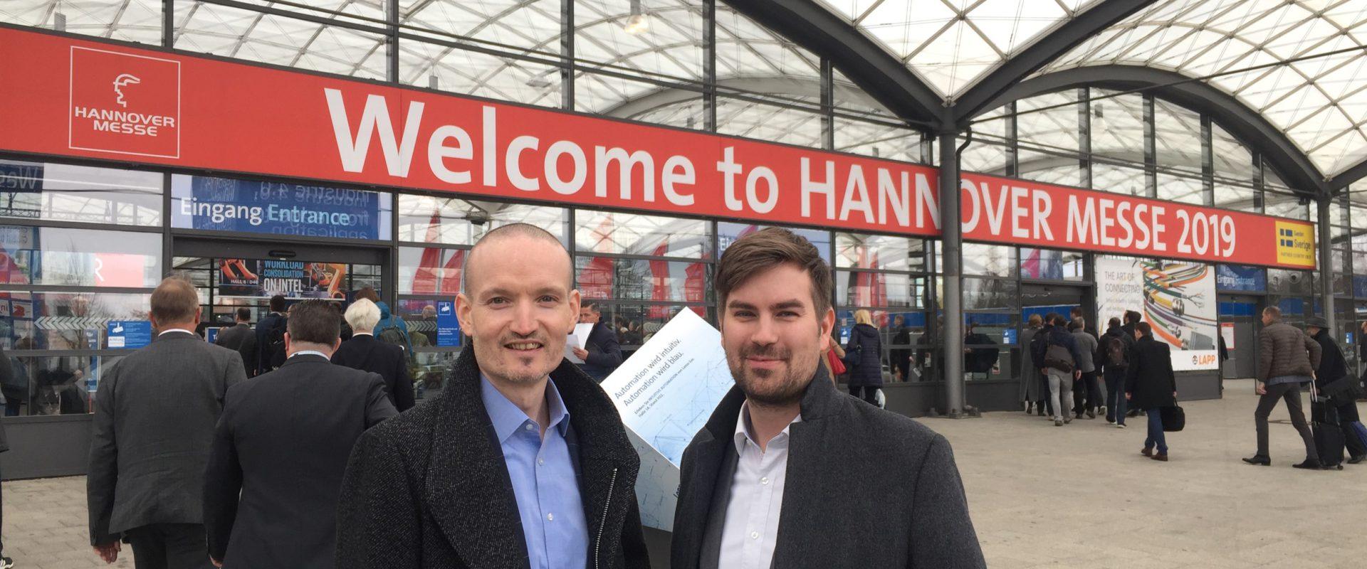 Das Kompetenzzentrum IT‑Wirtschaft auf der Hannovermesse 2019