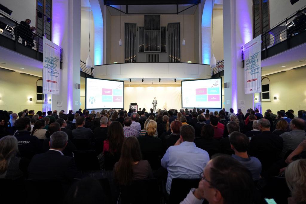 Vortrag über Zukunftstechnologien bei der Veranstaltung Trendradar.