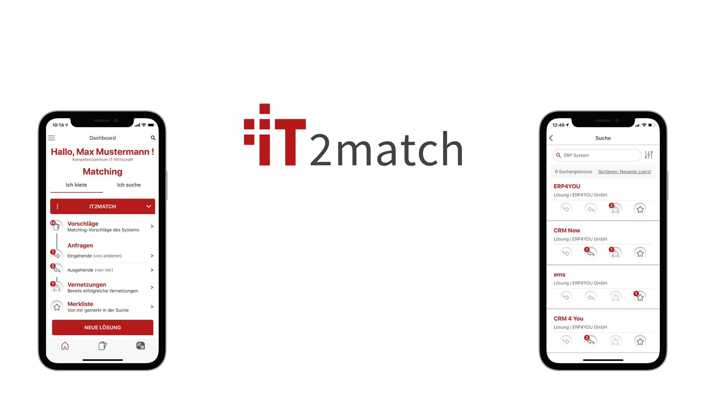 IT2match: Version 1.3.3 verfügbar