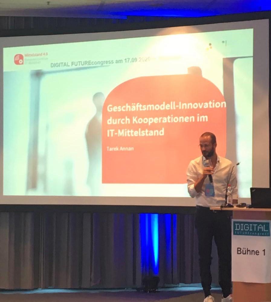 Vortrag auf dem DFC in München.